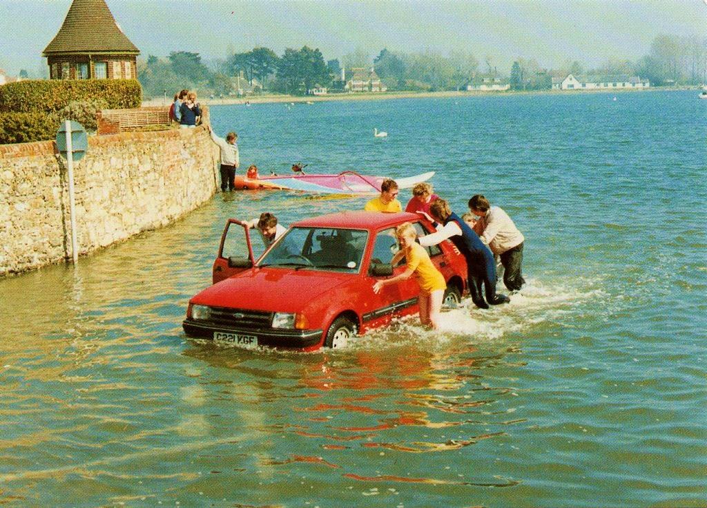 Postcard of the Week: Bosham – The Well-Travelled Postcard