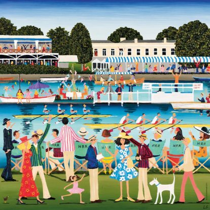 Henley Royal Regatta – A classic event on the summer social calendar, the prestigious rowing regatta in July draws the crème de la crème of English society to watch the races on the River Thames.