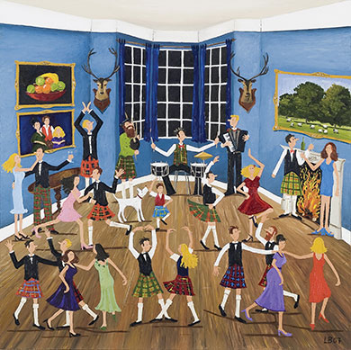 Scottish Dancing – Not only in Scotland, Scottish Dancing parties are another typical tradition and it's a dance that's easy to learn.