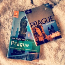 Prague guidebooks