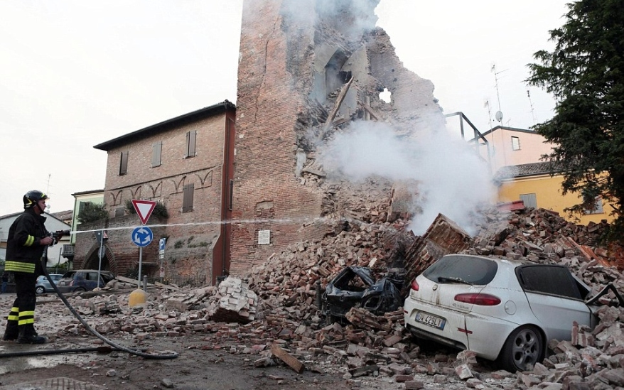 Earthquake in Modena