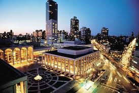 New York Fashion Week is held in the Lincoln Centre, New York, in a privelaged position just to the south west of Central Park.