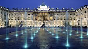 London Fashion Week is held in the majetsic setting of Somerset House, right next to the Thames River in London
