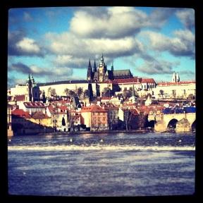 View over Prague Castle
