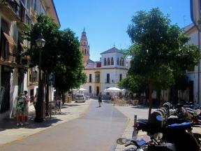 My walk to uni in Cordoba