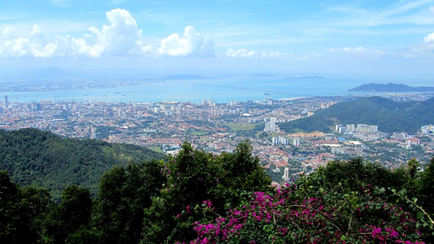 View over Penang