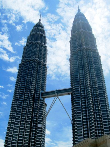 Petronas towers by day