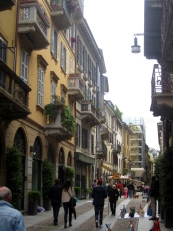 Neighbourhood of Brera, Milan