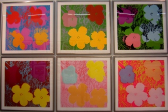 Andy Warhol at the Museo del Novecento, Milan