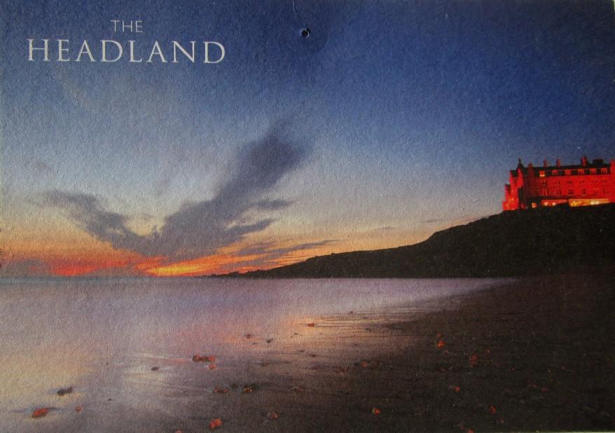 The Headland Hotel postcard
