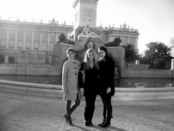 Madrid with the girls