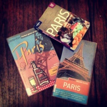 Paris guidebooks
