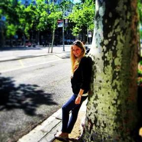 On the Passeig de Gracia