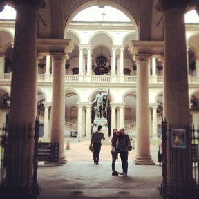 The Galleria di Brera