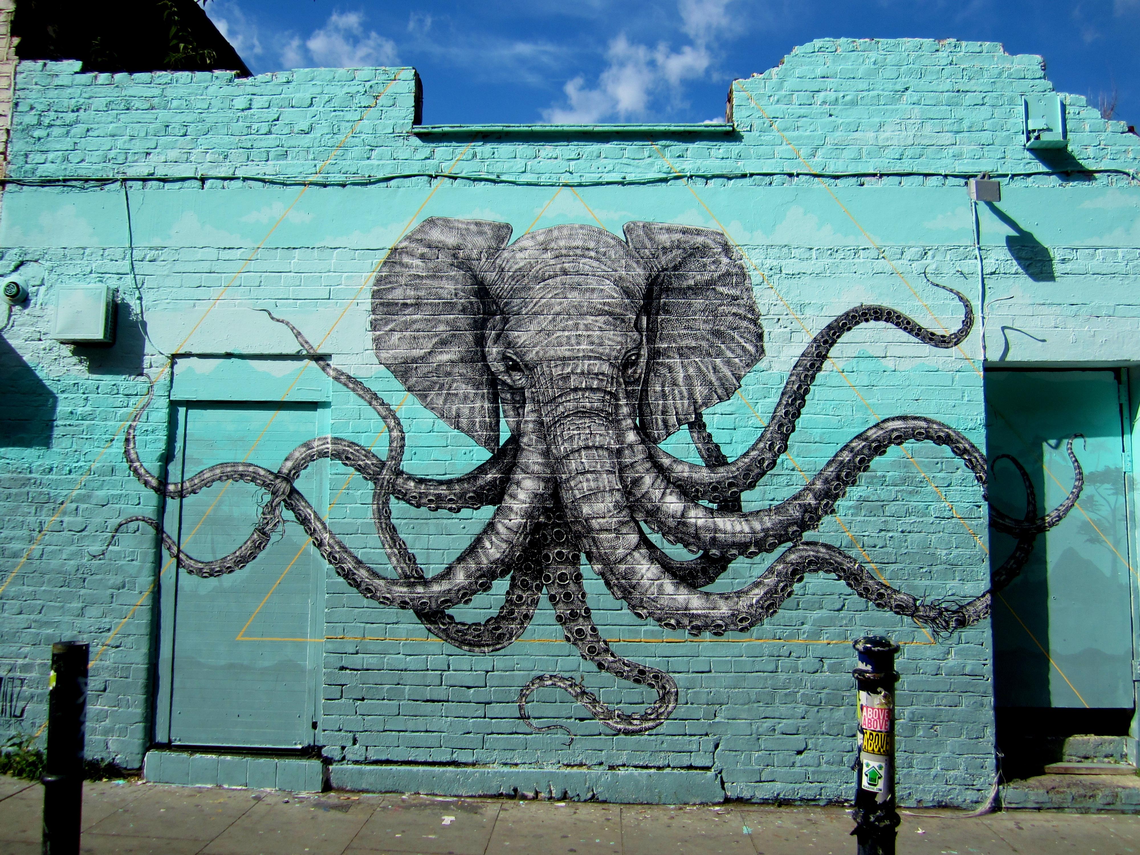 Street Art Walking Tour around East London – The Well