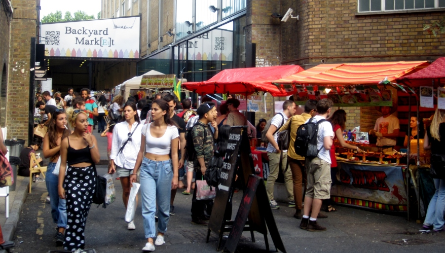 Brick Lane markets