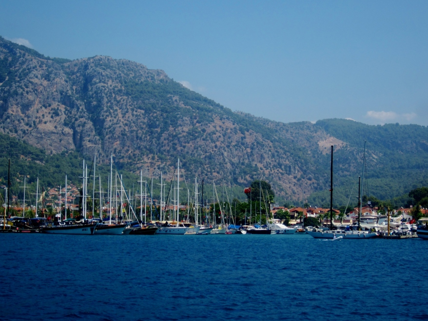 The Turkish coast