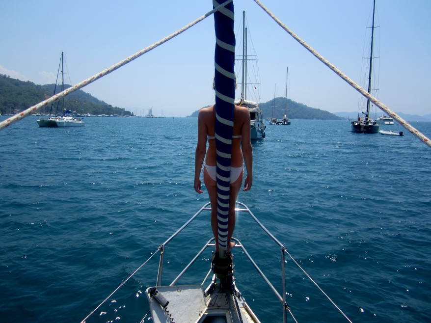In Gocek marina