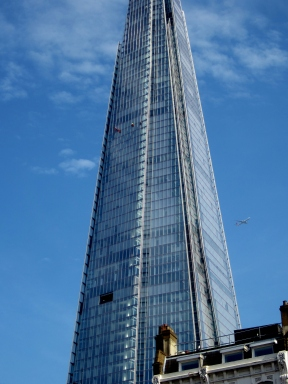 Climbers on the Shard