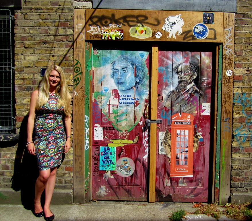 Street Art doorway