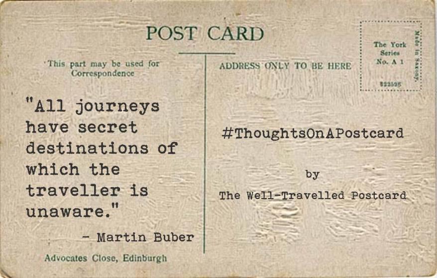#ThoughtsOnAPostcard no.4