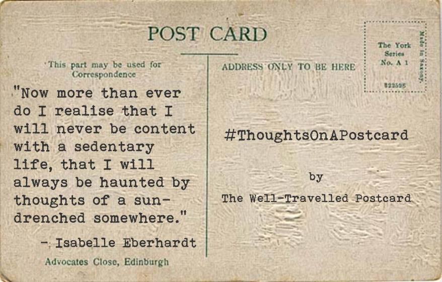 #ThoughtsOnAPostcard no.5