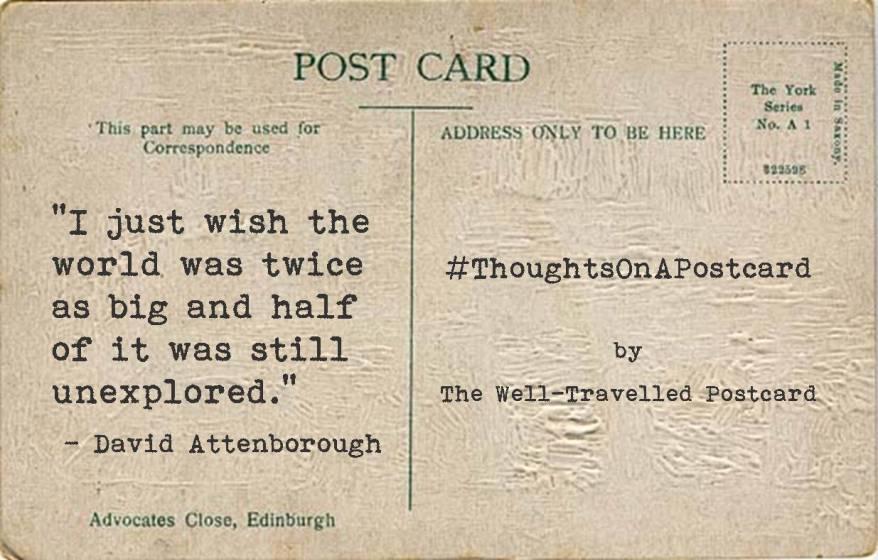 #ThoughtsOnAPostcard no.6