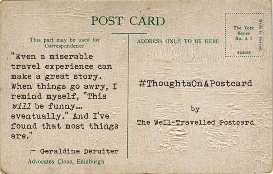 #ThoughtsOnAPostcard no.7