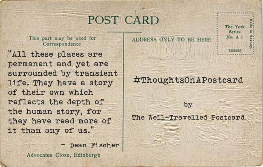 #ThoughtsOnAPostcard no.8