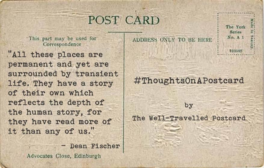 #ThoughtsOnAPostcard no.8