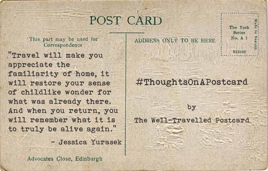 #ThoughtsOnAPostcard no.9