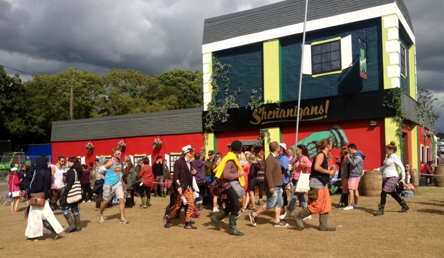 Shenanigans at Bestival 2013
