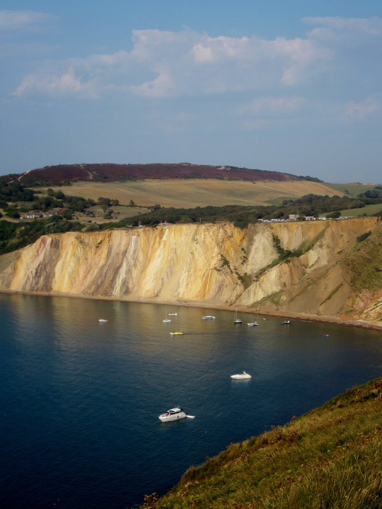 Alum Bay, the Isle of Wight