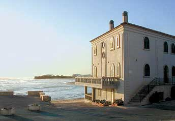 Montalbano's house in Donnalucata