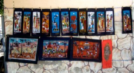Selection of paintings on sale