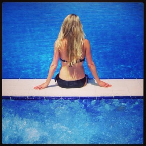 The pool in Marmaris marina