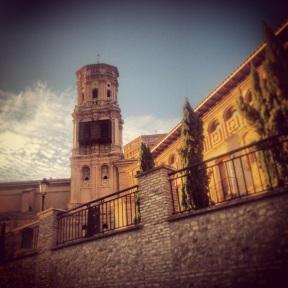 The Villafranca church where the wedding tool place