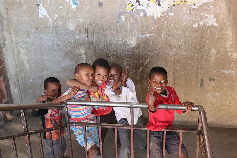 kids in hostel