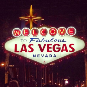 Welcom to Fabulous Las Vegas!