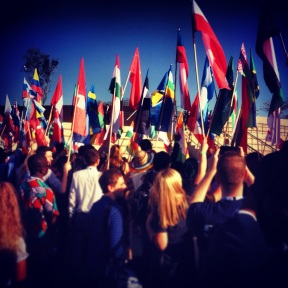 190 countries' flags present at One Young World