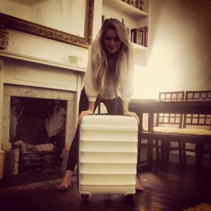 White Antler Juno Suitcase