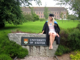 Exeter University Graduate
