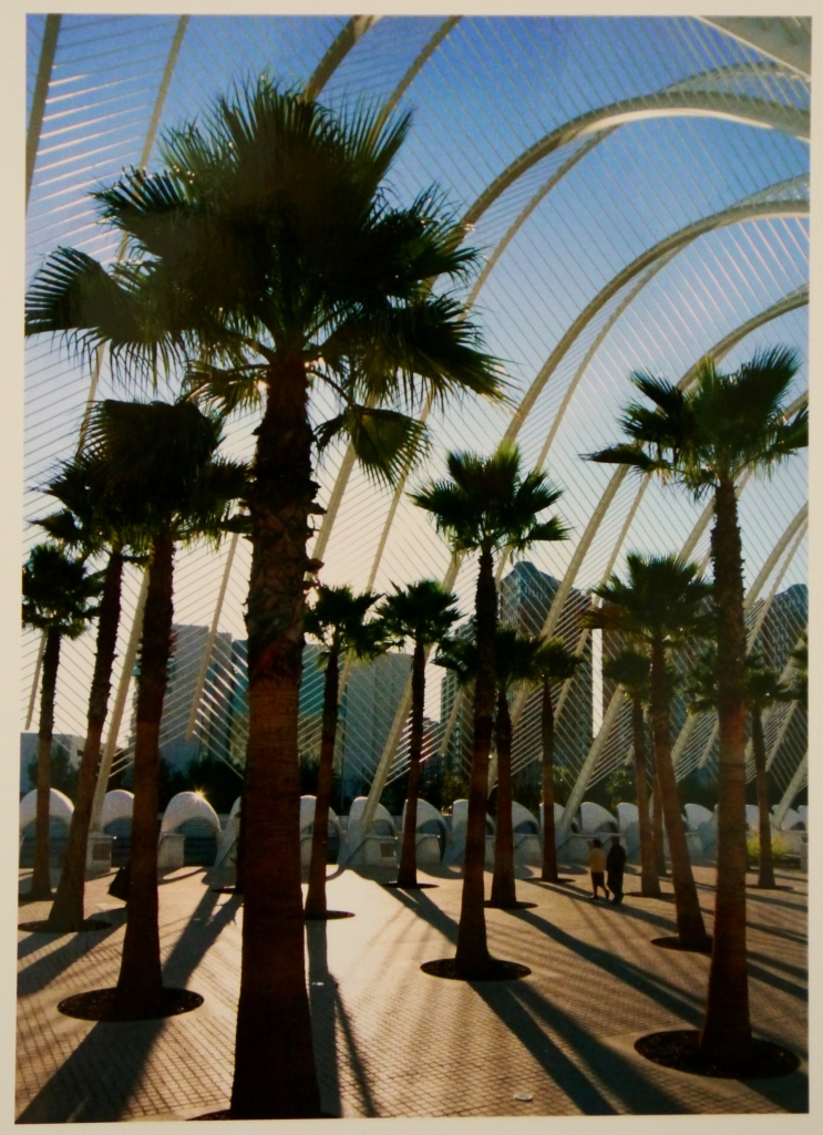 Umbracle postcard from Valencia