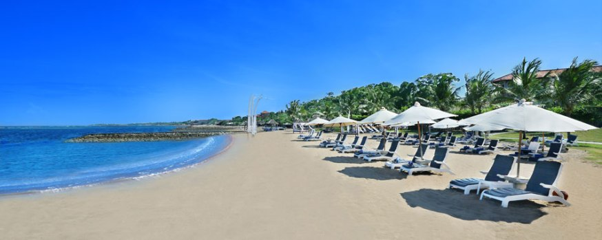 Club Bali Mirage's stunning beach