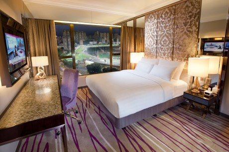 The Grand Deluxe room at the Cosmopolitan Hotel in Hong Kong
