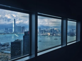 Bank of China view Hong Kong