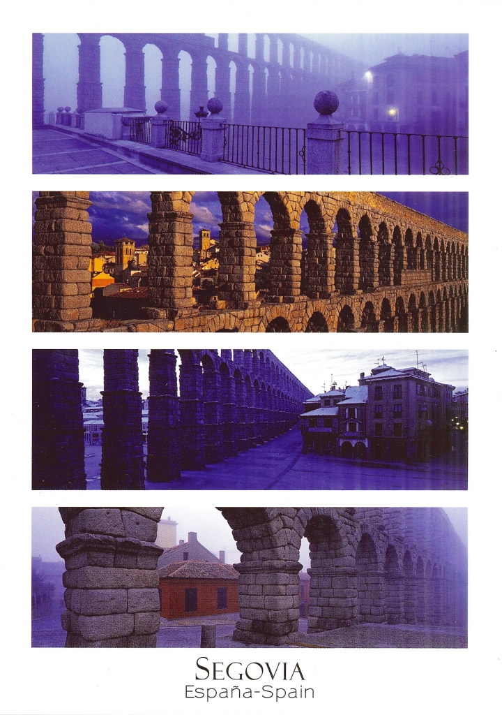 segovia postcard