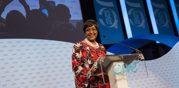 Winnie Mandela at One Young World