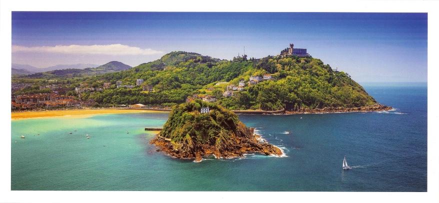 San Sebastián postcard