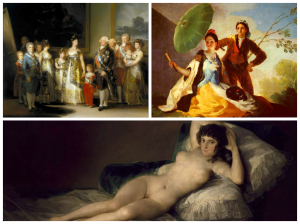 Goya paintings at the Prado